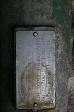 Warren 3202 Centrifugal Pump - 8X6-16 - 316ss