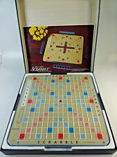 Scrabble Turntable Deluxe Board Rotating Edition Game Turn Table Selchow Righter