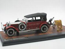 Matrix 1925 Rolls Royce Phantom Barker Torpedo mit Kanone + Tiger 1/43