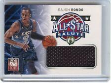2012-13 ELITE #6 RAJON RONDO JERSEY CARD ALL-STAR SALUTE, BOSTON CELTICS, 013118