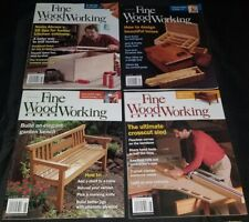 Fine Woodworking magazine lot of 7 issues 2008 complete year