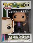 #163 Saul Goodman Breaking Bad - Box Damaged Rare Funko POP - Inc POP Protector