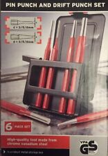 Powerfix Pin Punch e Drift Punch Set Set 6 PEZZI