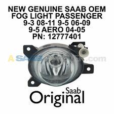SAAB FOG LIGHT 9-3 08-11 9-5 04-09 AERO PASSENGER RIGHT 12777401 NEW GENUINE OEM