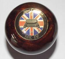 Rover Mini Cooper Schaltknauf WalnussWurzel für alle Minis very rare sehr selten