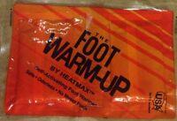 HeatMax The Foot Warmup Footwarmers Lot of 2 Pack =4 Pair Warmers