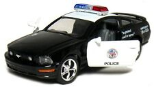 Kinsmart 1:38 scale 2006 Ford Mustang GT POLICE diecast model car Pull Back 5""