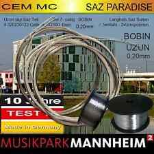 UZUNSAP BAGLAMA SAZ teli 1 Packung 7 saiten Profi Tel Musikpark mannheim Cem MC