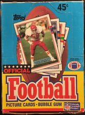 Topps 1989 NFL Football Wax Box New