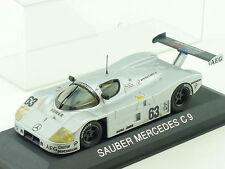 Max Models Sauber Mercedes MB C9 C 9 Le Mans 1:43 tlw. OVP 1412-11-67