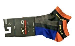 Polo Ralph Lauren Men's Polo Sport Performance Socks Low Cut Sock Size 10-13