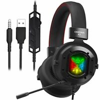 ONIKUMA K3 Stereo Gaming Headset for Xbox One, PC, PS4 Over-Ear Headphones with