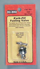 Dubro Kwik-Fill Fueling Valve Glow 334