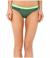 Nike Womens Size Small Medium Large Green Blue Print Scoop Bikini Swim Bottoms