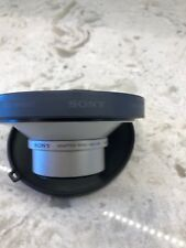 Sony VAD-S70 Lens Adaptor Ring & VCL-MHG07 Wide End Conversion Lens X0.7