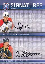 08-09 Be A Player Nathan Horton David Booth Signatures Dual Auto