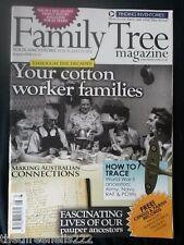 FAMILY TREE MAGAZINE - COTTON WORKER FAMILIES - AUG 2009