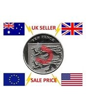Strong Magnetic 10p Coin Trick - Close Up Magic Trick - 10 Pence Coin Magic