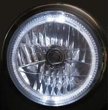 Angel Eye Headlights headlamp RHD H4 for Land Rover Defender 90 110 LED upgrade