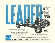 Vintage & Very Rare 1960 Bug Engineering Go-Kart Ad