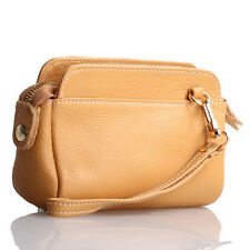 Yellow Italian Leather Wristlet / Wallet