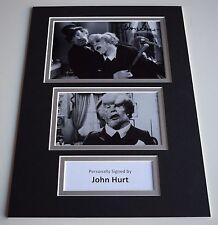John Hurt Signed Autograph A4 photo display TV Elephant Man AFTAL & COA