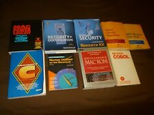 Computer Book Lot * Some Vintage * Good Condition* Some Have Floppy Disks & CD's
