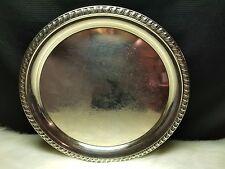 """Vintage Leonard Silver Serving Plate 12"""""""