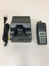 Harris P7300 Model MAEV-S7HXX Hand Held Radio W/ Charger NO BATTERY