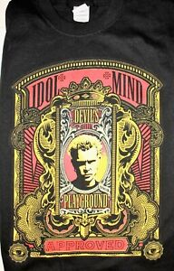 Billy Idol Devil's Playground 2005 Official Tour Shirt L