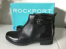 Women's Rockport Tristina Buckled Leather Booties Size 7.5 W
