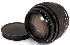 JUPITER-9 85mm f2 M42 BLACK USSR Russian Soviet Lens Zeiss Sonnar EOS TESTED!
