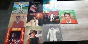 Lot 10 disque vinyle LP 33T ELVIS PRESLEY