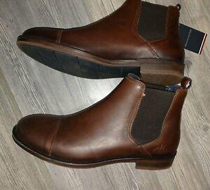 Tommy Hilfiger Chris 6A Chelsea Boots Gr:41 Braun
