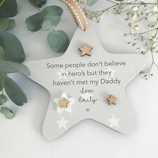 Daddy Personalised Star Gift Keepsake Son Daugher Fathers Day Christmas PMD011