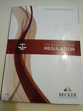 Becker CPA Exam Review Regulation v3.4 Brand new.