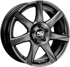 4 alloy rims  MSW 77 7x16 for RENAULT LAGUNA (T)