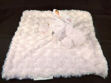 Blankets & Beyond Pink Bunny Rabbit Security Blanket Lovey NUNU New With Tags