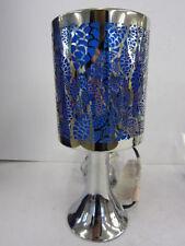 Lampade da interno blu argento