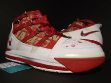 8a43fd7848c857 2006 NIKE ZOOM LEBRON III 3 ALL-STAR WHITE RED CHROME GOLD MVP 312147-