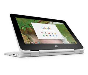 "HP Chromebook X360 11.6"" 2-in-1 Convertible Laptop Touchscreen 4GB 32GB eMMC"