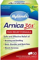Hyland's Arnica 30X Pain Relief Formula Quick Dissolving Tablets 50 ea