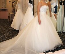 Morilee Wedding Dress and Crinoline Petticoat Slip - Size 6