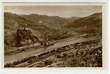 AK Usti nad Labem, Aussig, Elbtal mit Schreckenstein, 1931 Foto-AK