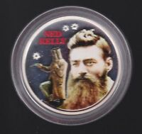 Unfolded CUTE! $1,000,000.00 Novelty Bank Note with NED KELLY clean and crisp