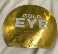 2x Vitamasques Gold Eye Brightening and Firming Hyaluronic Acid