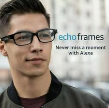 Echo Frames - Eyeglasses with Alexa - Black - A Day 1 Editions product - Sealed