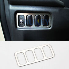 For Mitsubishi ASX Outlander Sport RVR Chrome Head Light Switch Panel Cover Trim