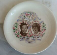 Princess Di and Charles Commemorative Wedding Plate
