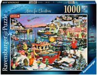 RAVENSBURGER PUZZLE*1000 TEILE*HOME FOR CHRISTMAS*WEIHNACHTEN*RAR*OVP